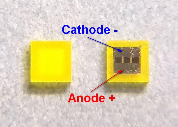 Светодиоды подсветки матрицы Lextar led 1616 3V 700mA 3W smd - маркировка