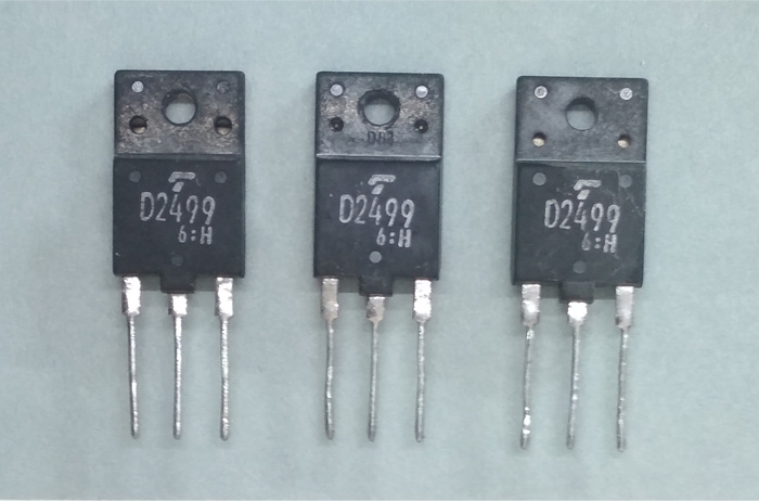 2SD2499 (D2499) - n-p-n транзистор