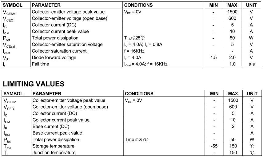 2SD2499 (D2499) - технические параметры