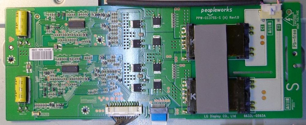 PPW-CC37SS-S (A) REV1.0 6632L-0593A инвертор LG 37SL8000-ZB