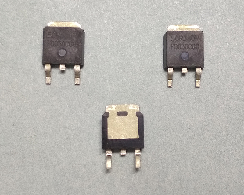 50R380P (MMD50R380P, 50R380) MOSFET 550V 11A N-Channel