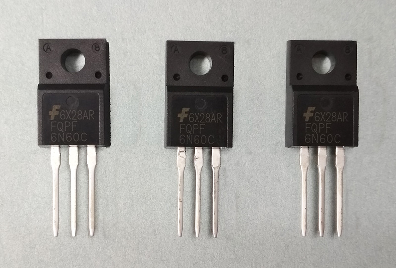 FQPF6N60C 6N60 (TO-220F) MOSFET 600V 5,5A N-Channel