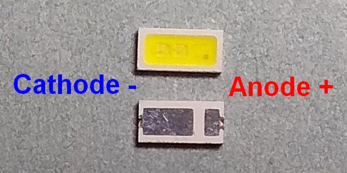 Светодиоды подсветки матрицы AOT led 4020 6V 150mА 1W smd - маркировка
