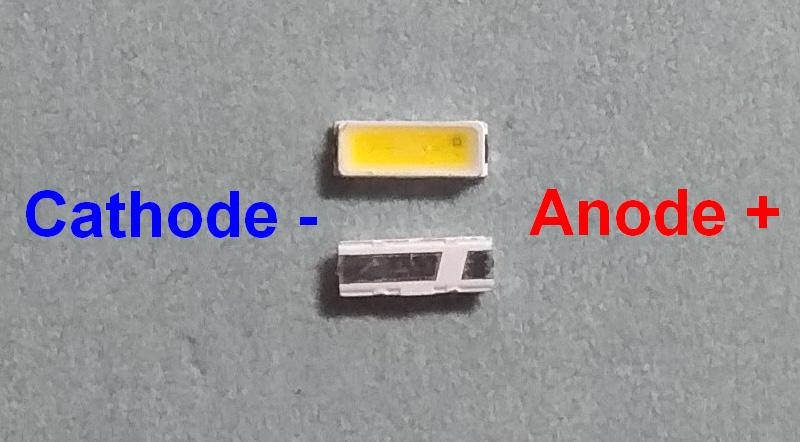 Светодиоды подсветки матрицы Everlight led 4014 3V 90mА 0,2W smd - маркировка
