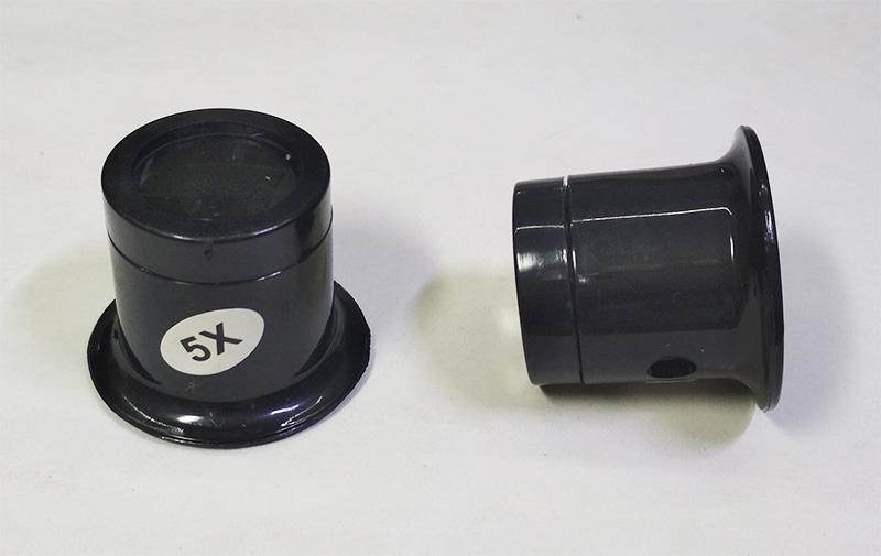 Лупа-5х (оптика, монокуляр, лупа часовщика или ювелира)