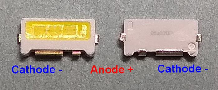 Светодиоды подсветки матрицы Edge (Samsung) led 7032 9V 200mA 2W smd - маркировка