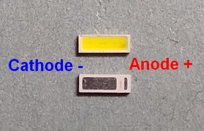Светодиоды подсветки матрицы Seoul led 4014 6V 150mА 1W smd - маркировка
