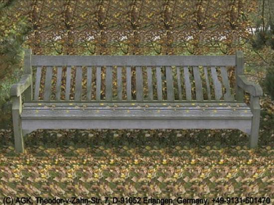 Кто сидит под скамейкой?