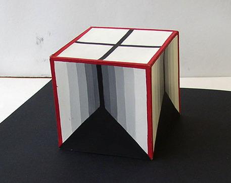 Раскрашенный куб