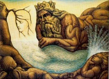 Нептун и Русалка