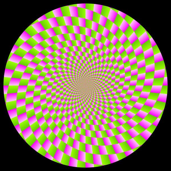 Картинка круги двигаются