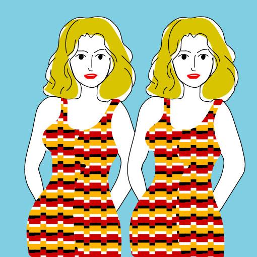 Живое платье