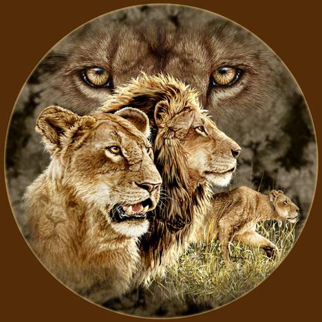 Десять львов