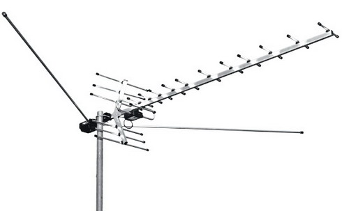 Good antenna for receiving T2