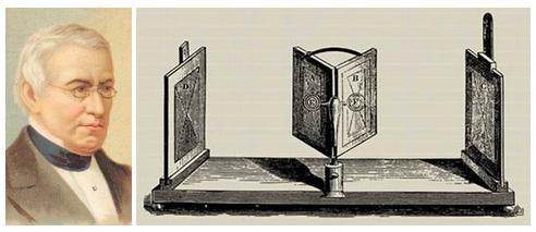 Чарльз Уитстоун і дзеркальний стереоскоп