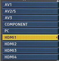 Вибір AV-режиму