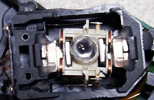 Лазер ДВД