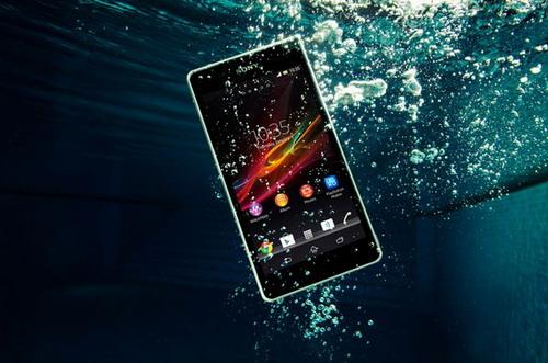 Sony Xperia ZR - зберігати у відрі з водою