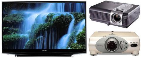 Лазерні телевізори і проектори