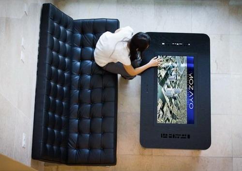 Mozayo - стіл з сенсорним екраном