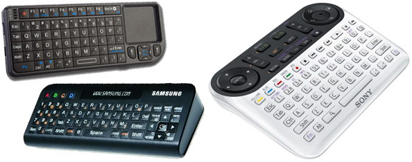 Remote control for Smart TV
