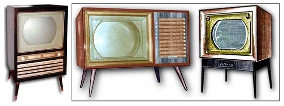 Кольорові телевізори 60-х років