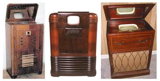 Перші лампові телевізори