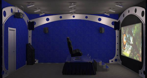 Всередині 6D-кінотеатру