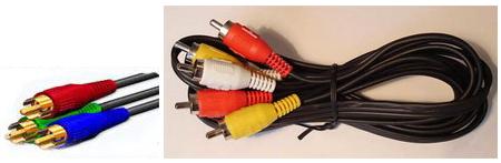 Шнури для конпонентного підключення