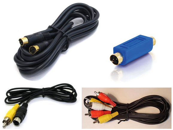 S-Video - шнури та перехідники