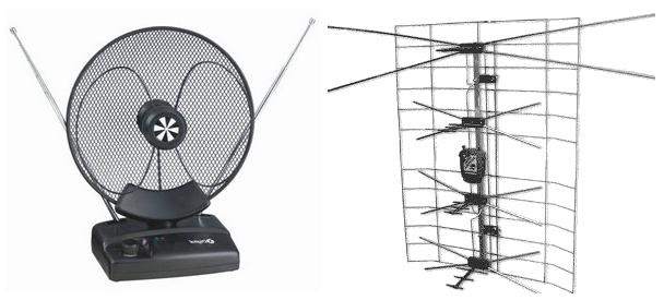 Антена з підсилювачем