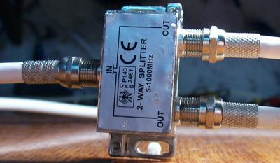Распределитель телевизионного сигнала