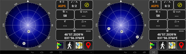 AndroiTS GPS Test Free - немає супутників