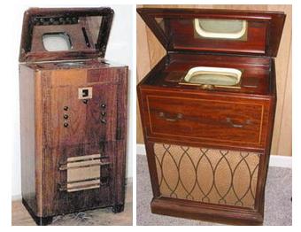 Перші проекційні телевізори