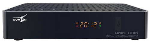 Romsat RS-300 - лицьова панель