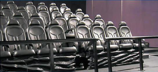 Крісла для 6D-кінотеатру