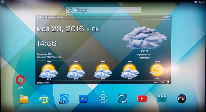 Підключення до сервісів Android приставці