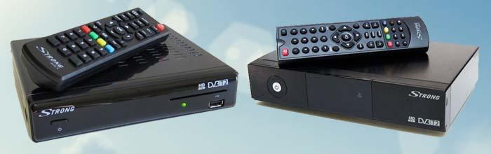 Сравнение Strong 8500 HD и Strong 8502 HD