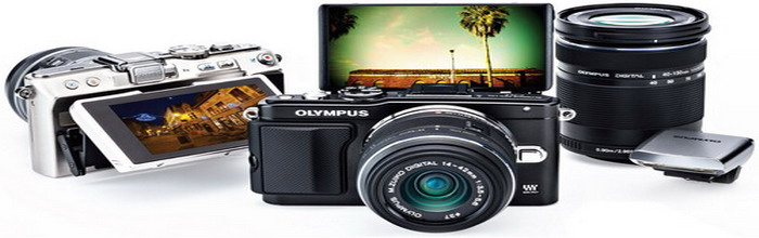 Olympus - a new series mirrorless camera in retro style
