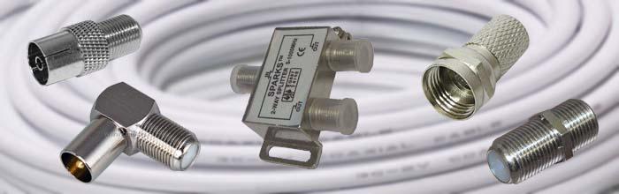 Как накрутить F-штекер на антенный кабель