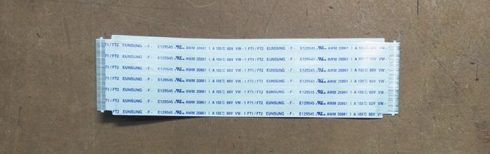 Шлейф 100x25mm 50pin SAMSUNG PS43D451A3W