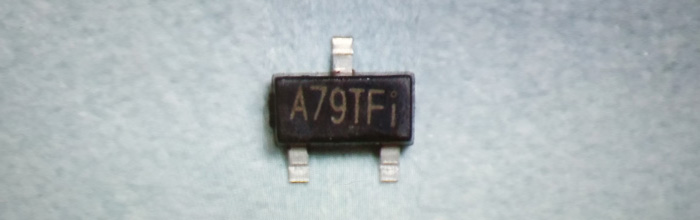 AO3407A (A79T) MOSFET 30V 4,3A P-Channel