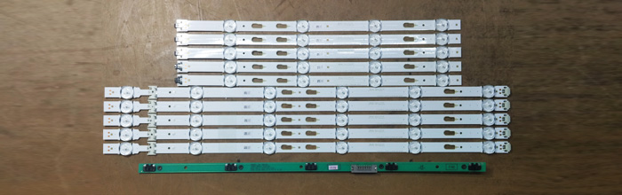 2D 48FHD (BN41-02373A) LM41-00117L LM41-00106R - планки подсветки матрицы CY-WJ048CGLV1V
