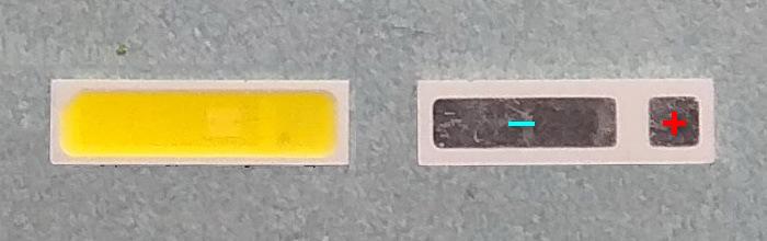 Светодиоды подсветки матрицы Everlight led 7020 3V 160mA 0,5W smd