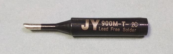 Жало паяльника JY 900M-T-2C (конус, срез)