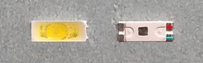 Светодиоды подсветки матрицы Lextar led 4014 3V 60mА 0,2W smd