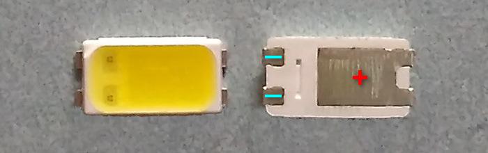 Светодиоды подсветки матрицы LG Innotek led 5630 smd 3V
