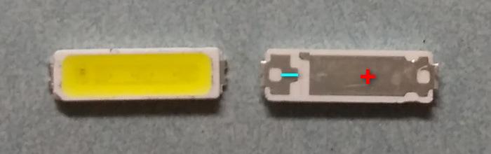 Светодиоды подсветки матрицы LG Innotek led 7020 smd 6V