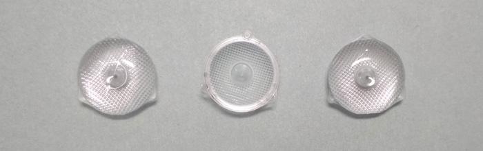Оптическая рассеивающая линза (пуговка) для светодиодных планок 2828, 2835, 3030, 3528, 3535 (ver-2)