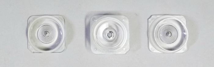 Оптическая рассеивающая линза (квадрат) для светодиодных планок led smd 2828, 2835, 3030, 3528, 3535